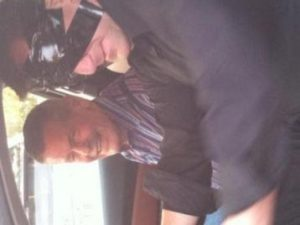 Bobby Unser in car with Curtis The Mentalist