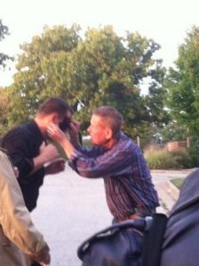 Bobby Unser puts Duct Tape on Curtis The Mentalist