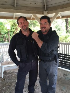 Curtis The Mentalist with actor Dean Cain