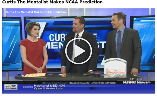 Curtis The Mentalist makes prediction of final game of 2018 NCAA Basketball Tournament