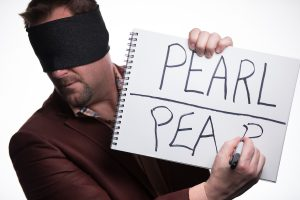 Curtis The Mentalist Blindfold Writing