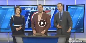Curtis The Mentalist on KAKE News Kansas Honor Flight