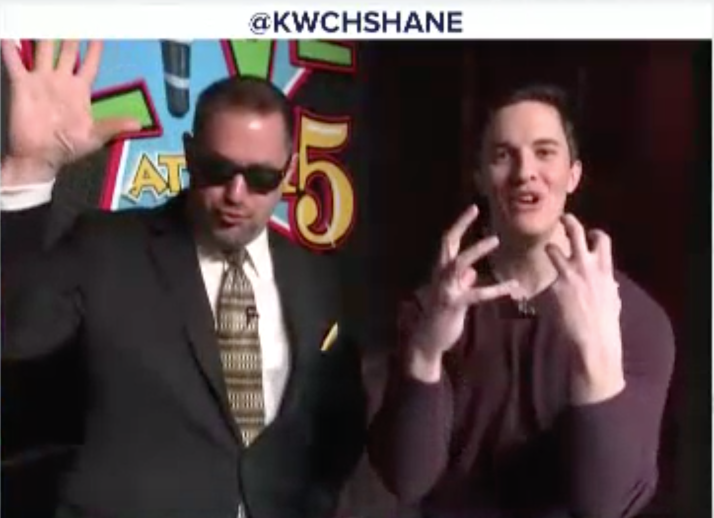 Curtis The Mentalist blows the mind of Shane Konicki on Where's Shane? KWCH 12 TV News
