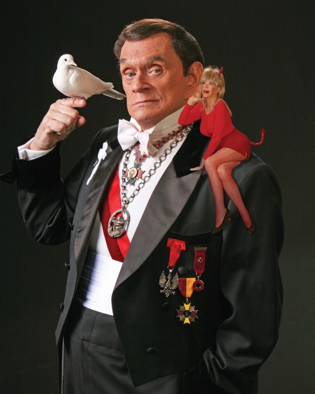 Magician Johnny Thompson of the Great Tomsoni and Company