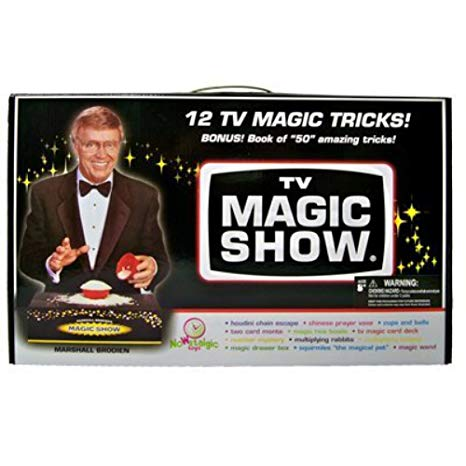 Marshall Brodien and his TV Magic Show Kit