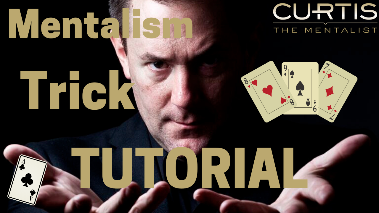 Mentalism Card Trick Tutorial [With A BORROWED Deck]