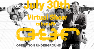 Virtual Mentalism Show on July 30th to benefit Operation Underground Rescue