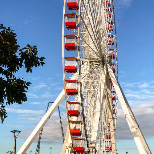 Big Ferris Wheel in Branson Missouri