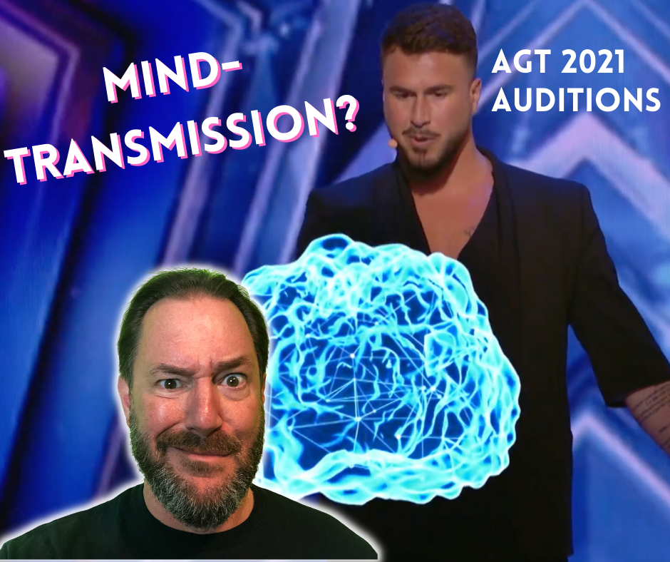 French mentalist Kevin Micoud's Mind Transmission Act on AGT 2021