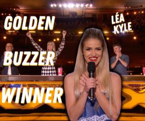 Léa Kyle wins Golden Buzzer on Americas Got Talent